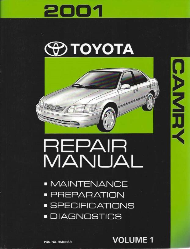 2001 toyota camry repair manual volumes 1 and 2 toyota motor rh oncereadbooks com 2001 toyota camry repair manual free 2001 camry repair manual pdf