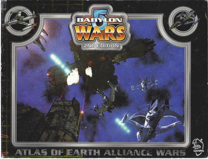Atlas of Earth Alliance Wars (Babylon 5 Wars, 2nd Edition)