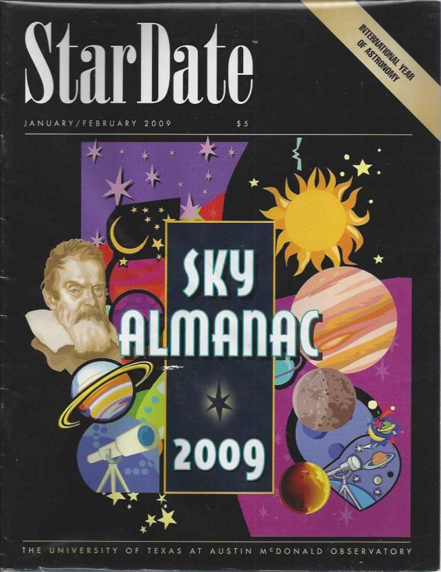 StarDate Magazine (Collection of 6 Magazines; FULL YEAR 2009), n/a