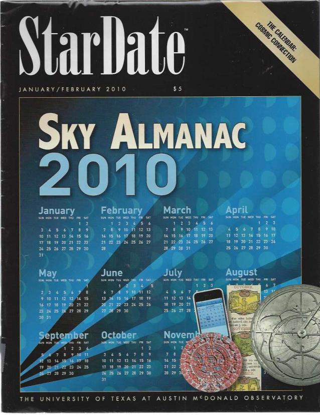 StarDate Magazine (Collection of 5 Magazines from 2010), n/a