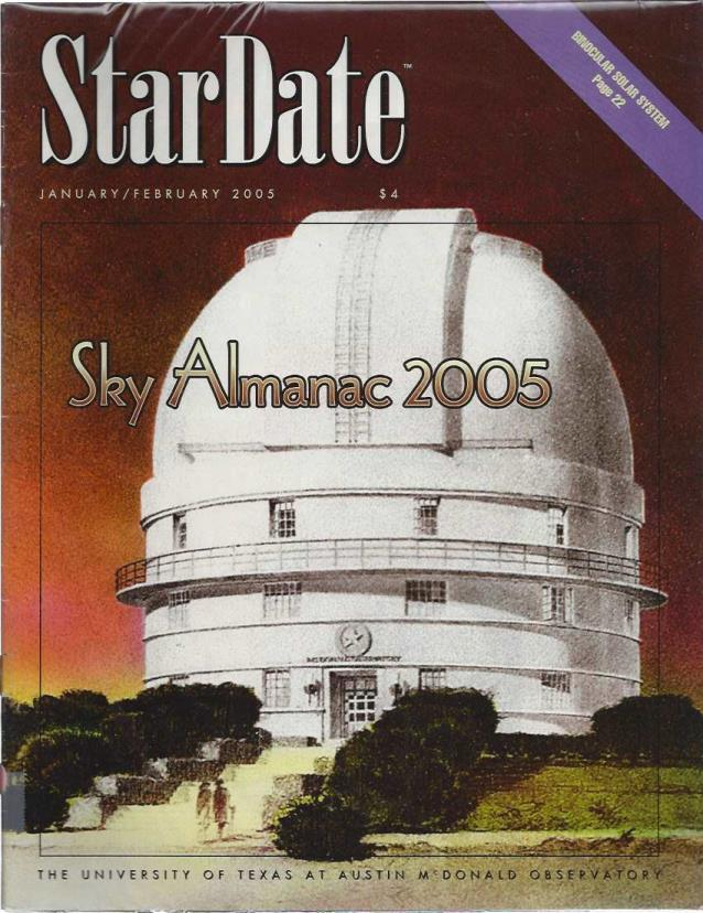 StarDate Magazine (Collection of 6 Magazines; FULL YEAR 2005), n/a