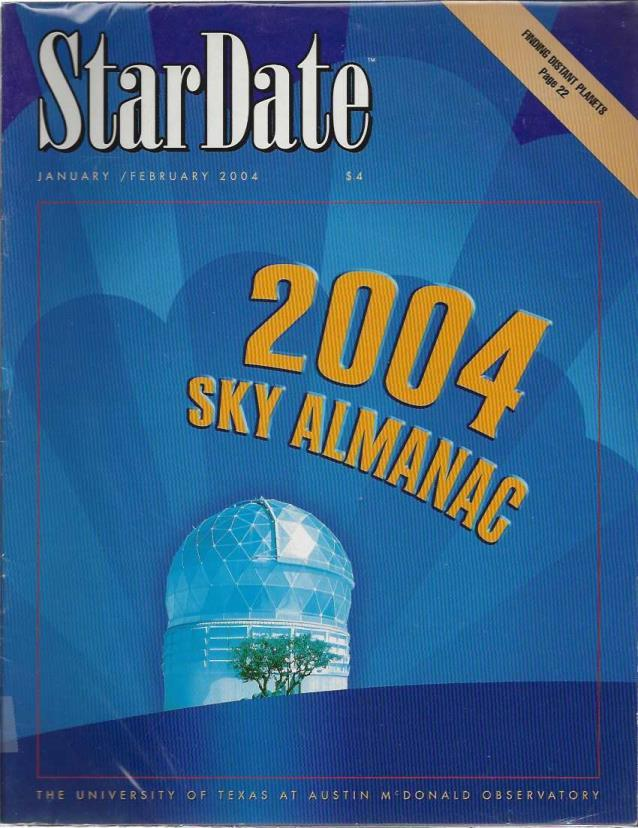 StarDate Magazine (Collection of 6 Magazines; FULL YEAR 2004), n/a