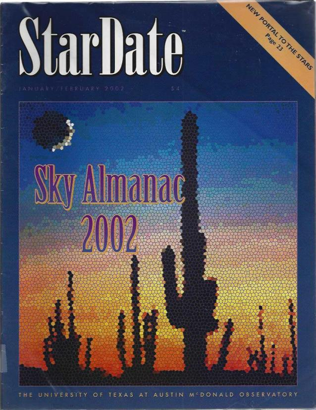 StarDate Magazine (Collection of 6 Magazines; FULL YEAR 2002), n/a