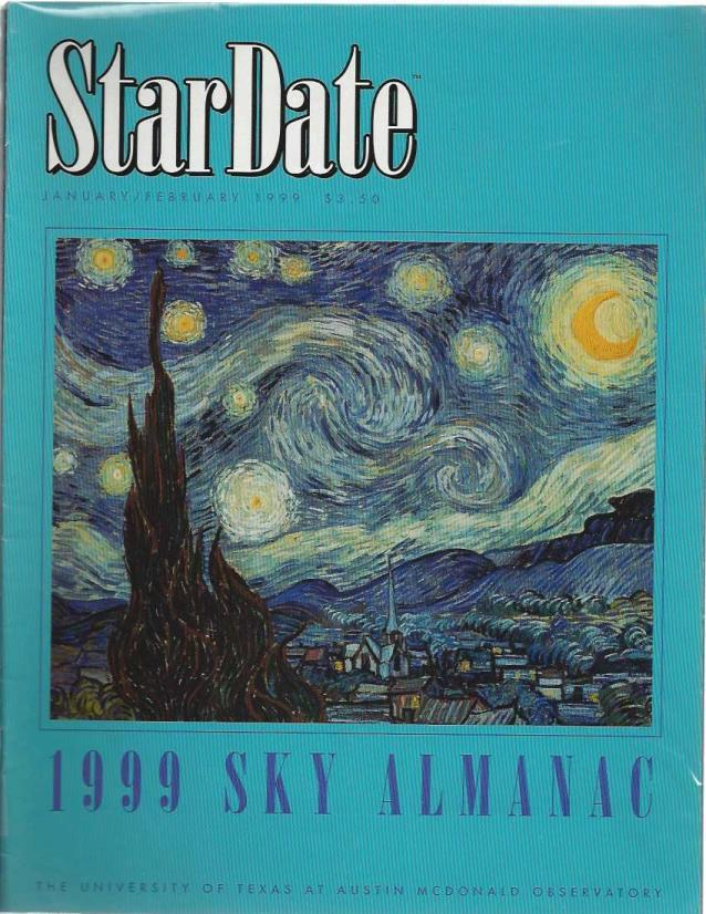 StarDate Magazine (Collection of 6 Magazines; FULL YEAR 1999), n/a