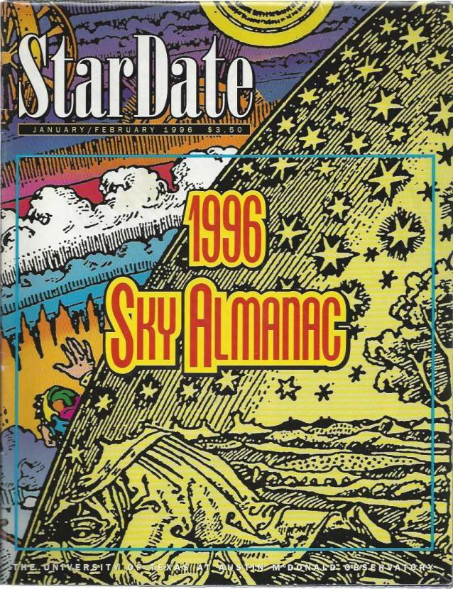 StarDate Magazine (Collection of 6 Magazines; FULL YEAR 1996), n/a