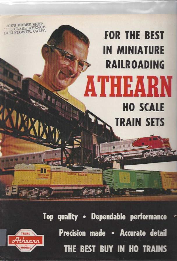 For the Best in Minature Railroading, Athearn HO Scale Train Sets (Model Catalogs, 2 copies), n/a