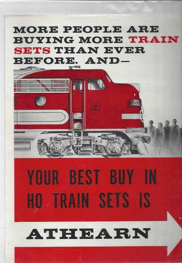 Athearn Model Train Catalog (Undated, Circa 1950), n/a