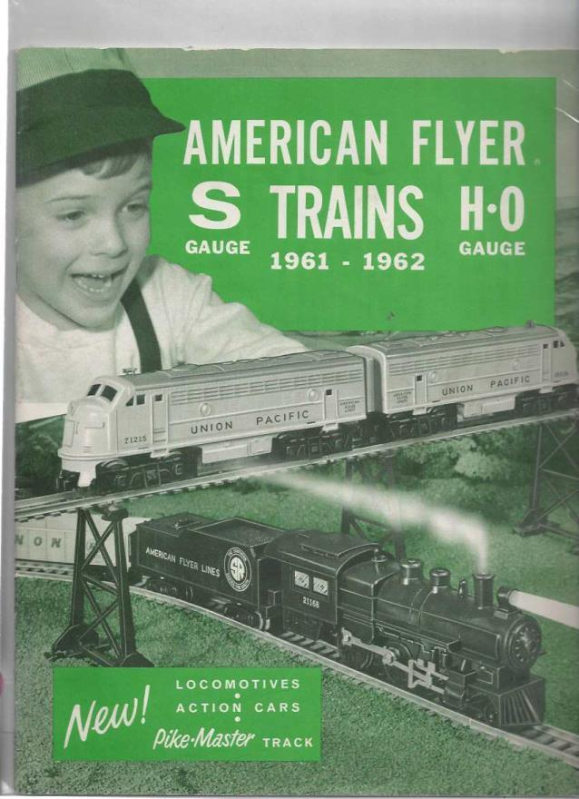 American Flyer Trains, 1961-1962, S Gauge, H-0 Gauge, American Flyer Trains