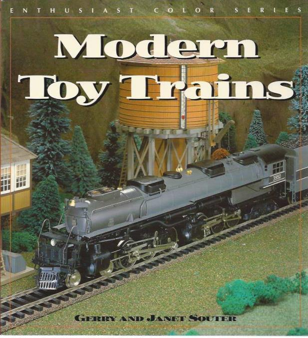 Modern Toy Trains (Enthusiast Color), Souter, Gerry & Janet