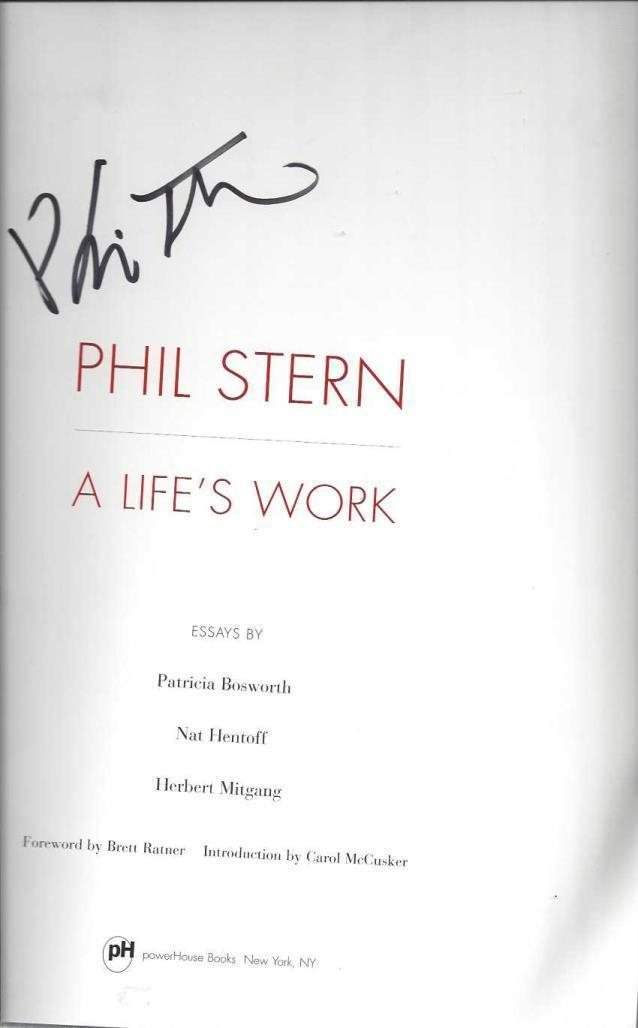 Phil Stern:  A Life's Work, Phil Stern; Patricia Bosworth; Carol McCusker; Brett Ratner