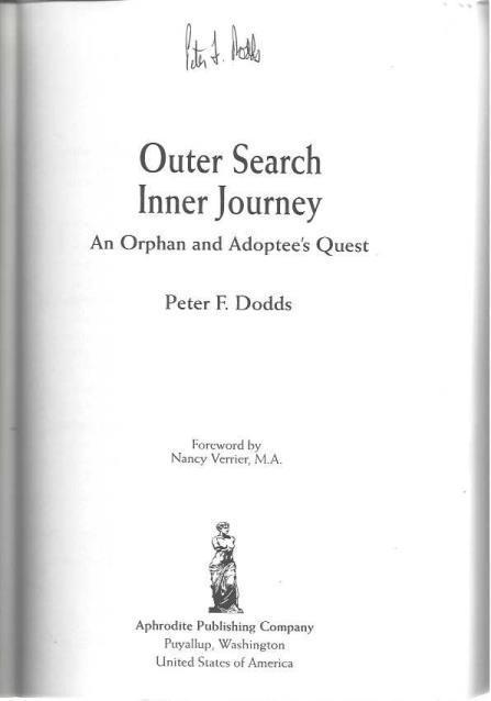 Outer Search Inner Journey, Peter Dodds; Elizabeth Lyon [Editor]