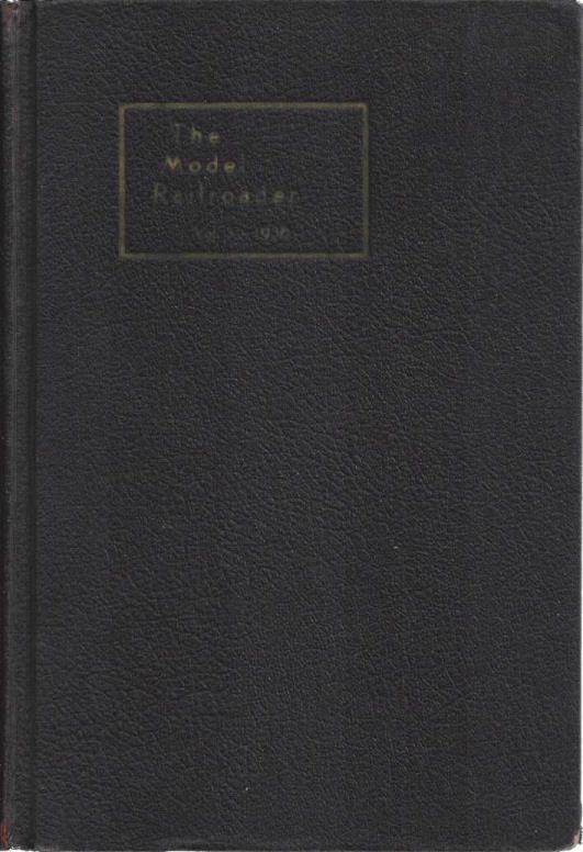 The Model Railroader Volume 3 January-December, 1936, A.C. Kalmbach (editor)