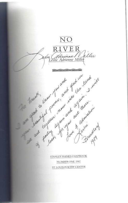 No River, Leslie Adrienne Miller