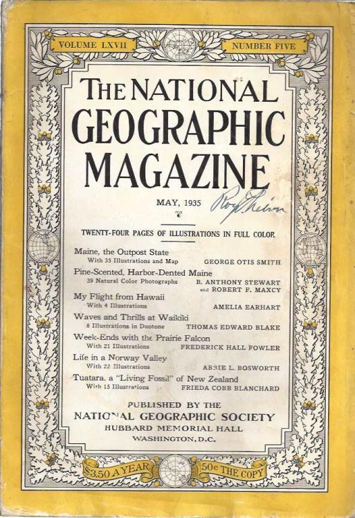 National Geographic Magazine, Vol. LXVII, No. 5, May, 1935, National Geographic Society