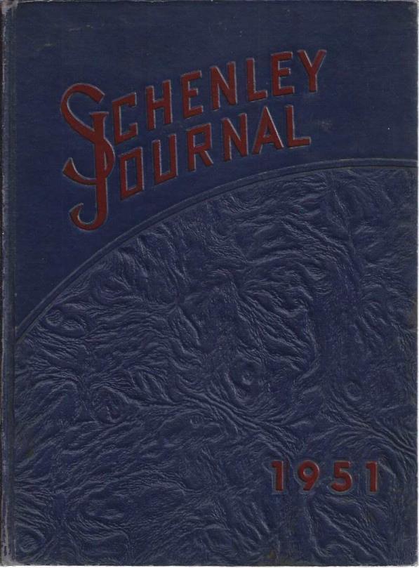 Schenley Journal (Schenley High School Yearbook 1951), N/A