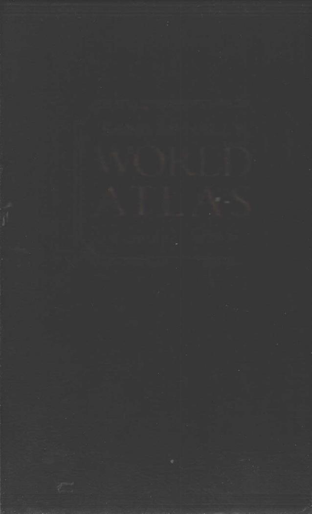 Rand McNally World Atlas Premiere Edition, N/A