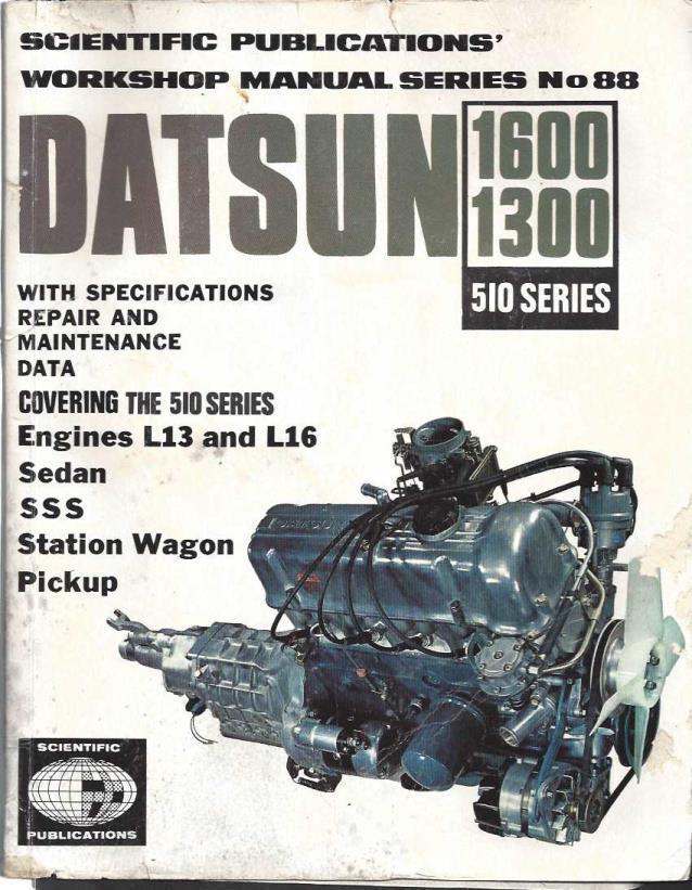 Datsun 1600, 1300 Series 510, N/A