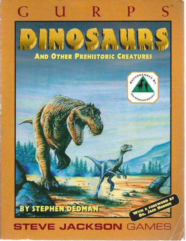 GURPS: Dinosaurs, Dedman, Stephen