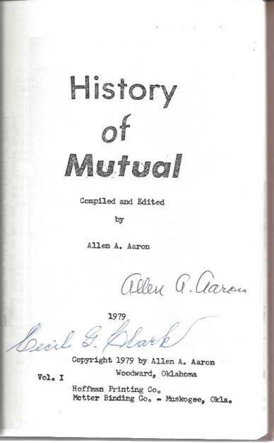 History of Mutual, Allen A. Aaron