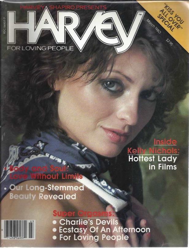 Harvey Adult Magazine March 1980 Inside; Kelly Nichols, harvey