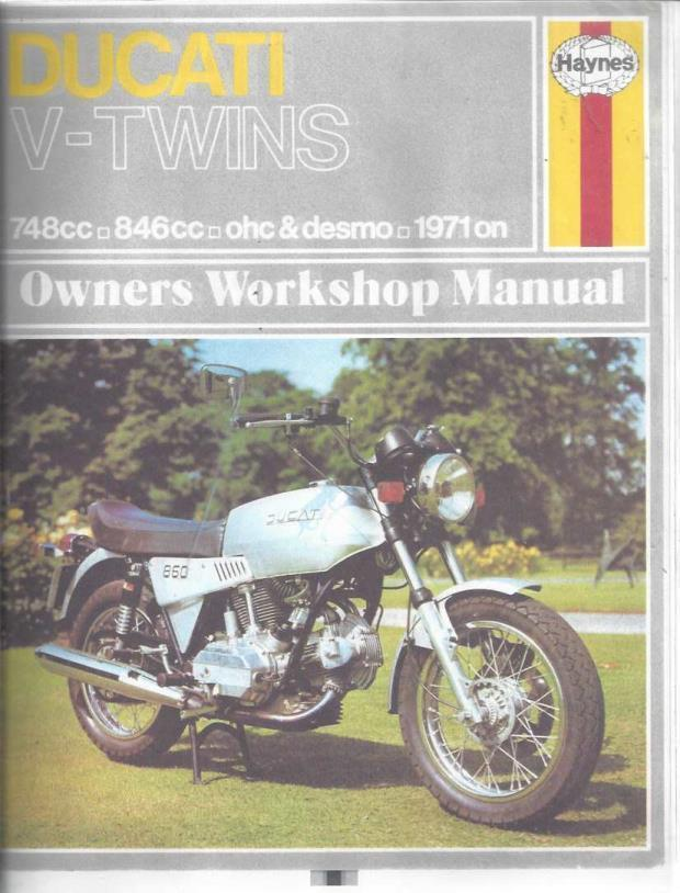 Ducati V-Twins Owners Workshop Manual (Hayne's Automotive Repair Manual), Shoemark, Pete