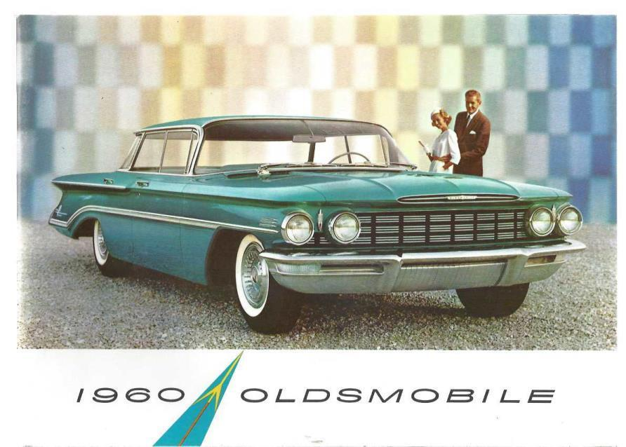 1960 Oldsmobile (Style Booklet for 1960 Line), General Motors