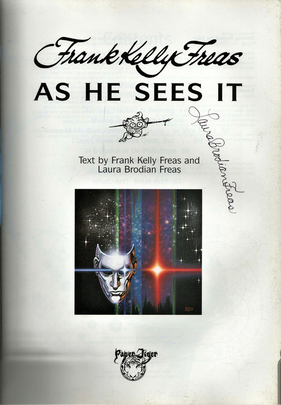 Frank Kelly Freas As He Sees It, Freas, Frank Kelly; Brodian Freas, Laura