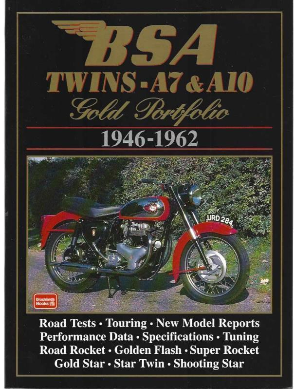 BSA Twins A7 & A10: 1946-1962 (Gold Portfolio), Clarke, R.M.