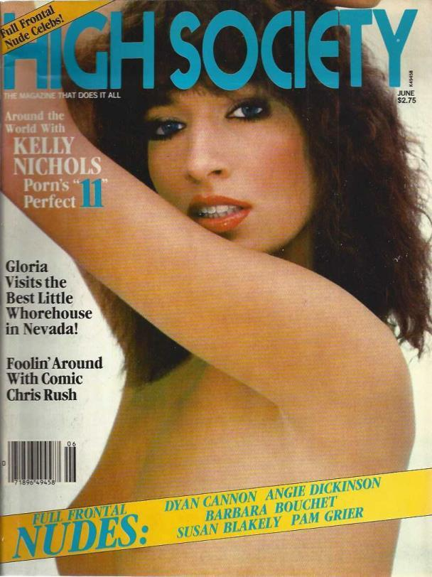High Society: Angie Dickinson Full Frontal (June 1980; Vol. 5, No. 1) [Adult]