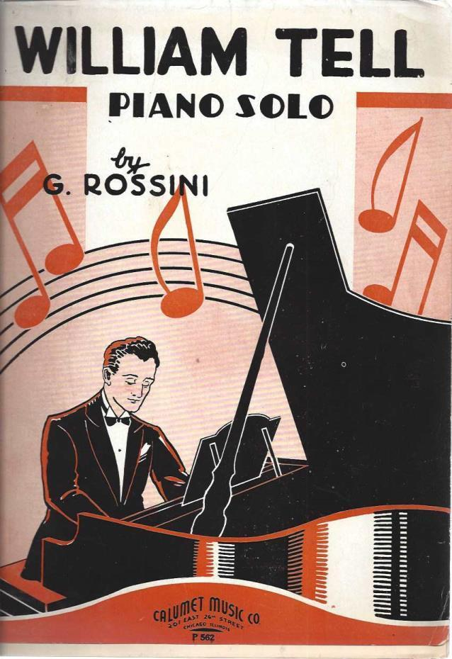 William Tell Piano Solo, G. Rossini