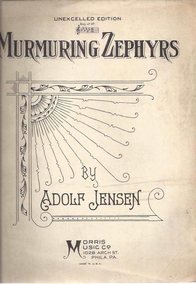 Murmering Zephyrs, Adolf Jensen