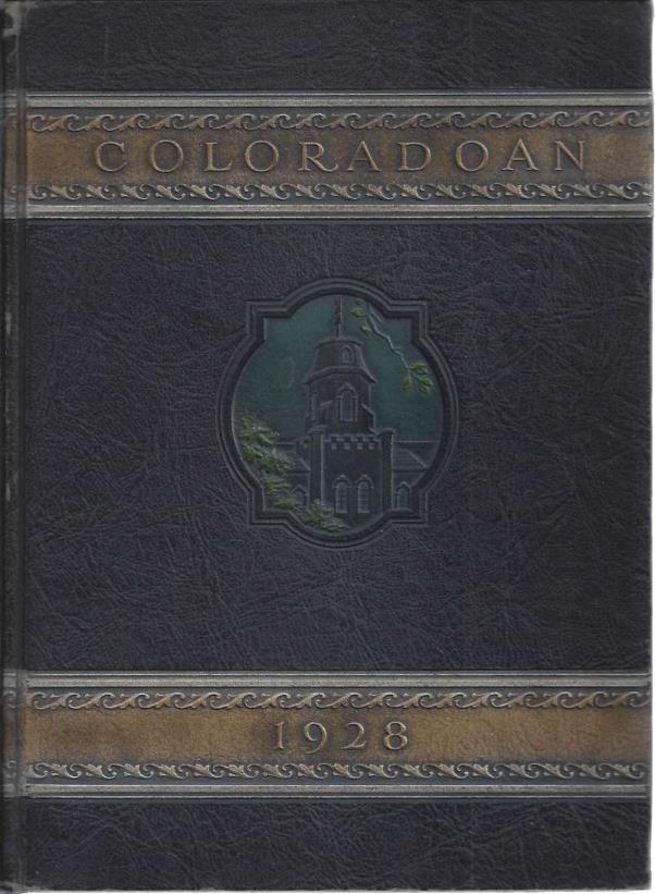 Coloradoan 1928 (volume XXX)