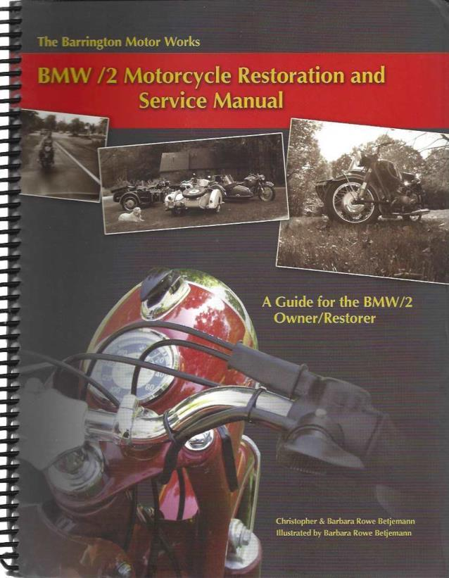 BMW Restoration, Betjemann, Christopher; Betjemann, Barbara Rowe