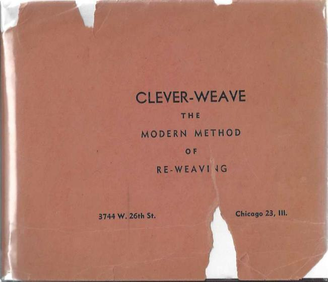 CleverWeave:The Modern Method of French Reweaving, Waisman, Abraham