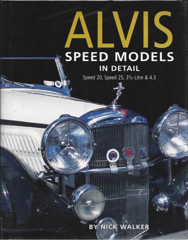 Alvis Speed Models 1932-1940, Walker, Nick