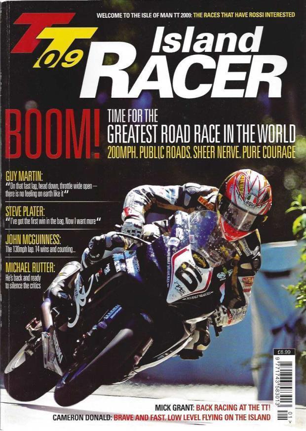TT09 Island Racer, Tony Carter