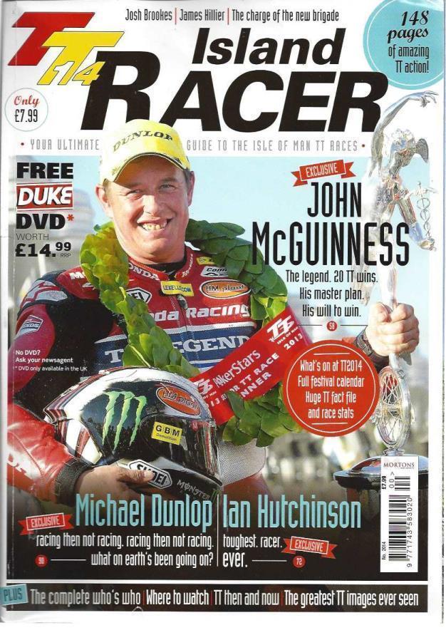 TT14 Island Racer, Tony Carter