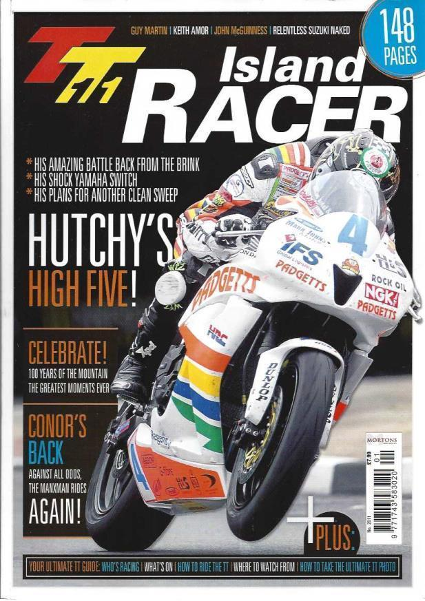TT11 Island Racer, Tony Carter