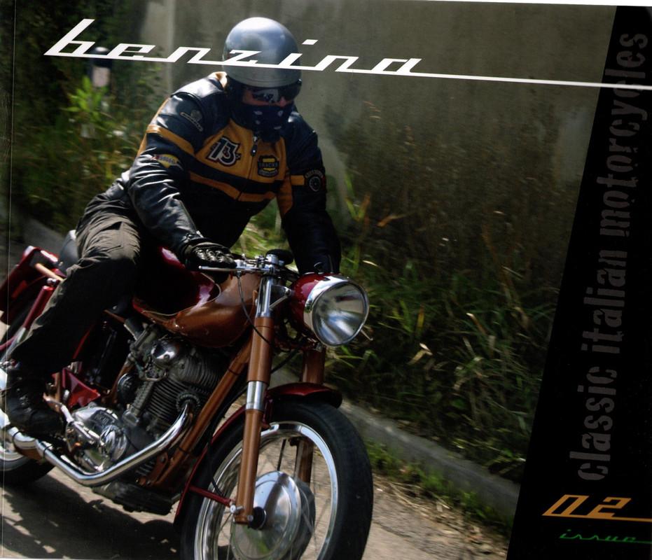 Benzina #002 Classic Italian Motorcyles, N/A