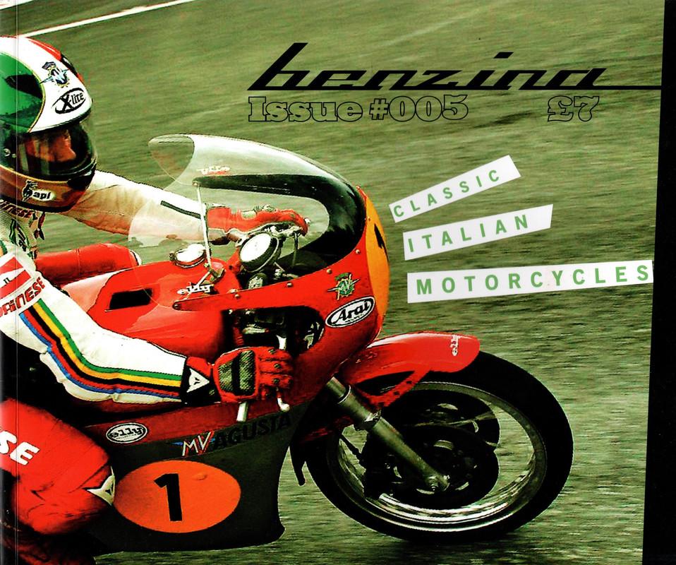 Benzina #05 Classic Italian Motorcycles, N/A