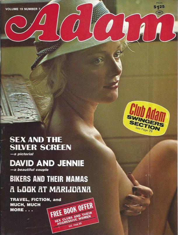 "Adam Busty Adult Magazine ""Jennie"" ""Misty Rowe"" Vol.19 No.7 1975, Adam Busty Adult Magazine"