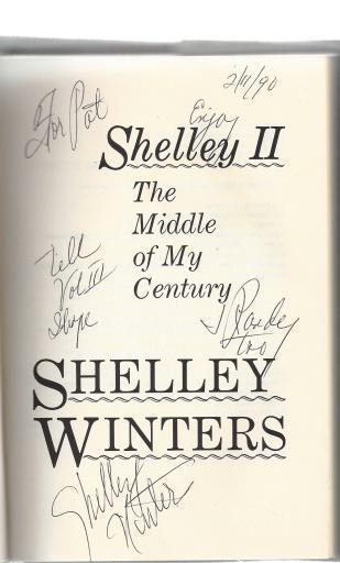Shelley II: The Middle of My Century, Winters, Shelley