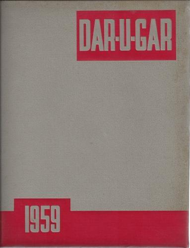 1959 Dar-U-Gar (Compton College Yearbook Compton, CA), N/A