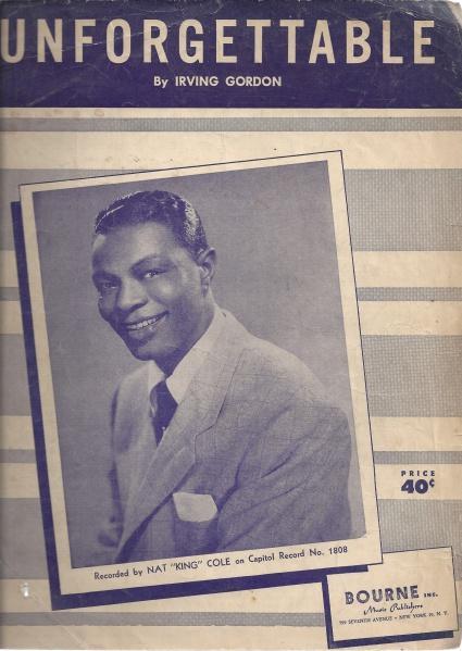 Unforgettable, Irving Gordon