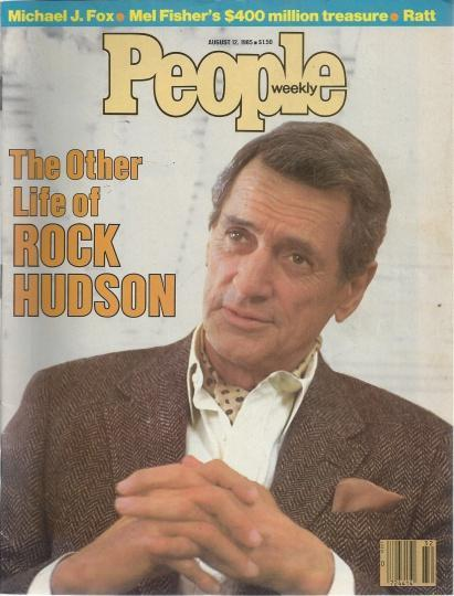 People Weekly (ROCK HUDSON...His Other Life , Michael J. Fox, August 12 , 1985), Ratt [Introduction]