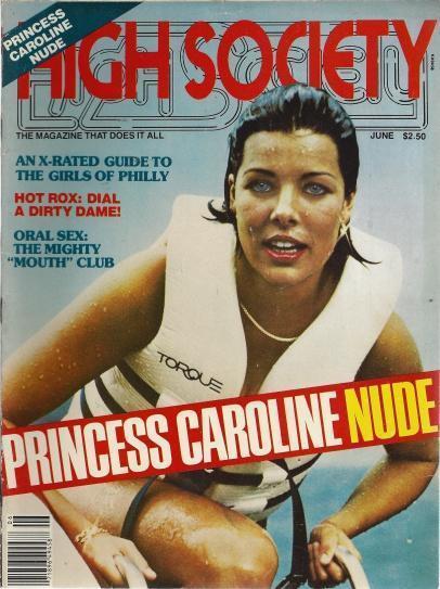 High Society June 1979 Princess Caroline Nude, HIGH SOCIETY