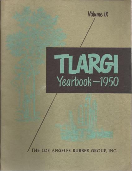 Tlargi Yearbook 3 Volume Set: 1950, 2 Copies of 1955, N/A