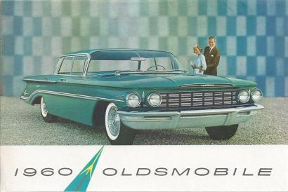 1960 Oldsmobile Ninety-Eight Series Sales Foldout (Set of 2), N/A