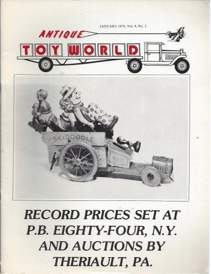 Antique Toy World 6 Volume Set (January, March, April, June, September, October 1979), N/A