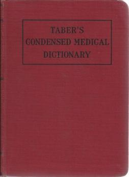 Condensed medical dictionary, Taber, Clarence Wilbur